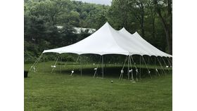 Image of a 30'x60 White Canopy