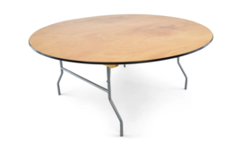 """Image of a 72"""" Round Tables"""
