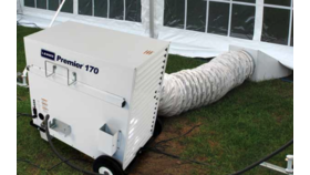 Tent Heating System image