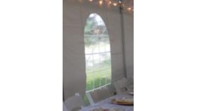 Image of a 15'x7' Sidewall w/ Window