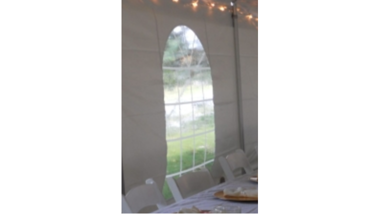 Picture of a 15'x7' Sidewall w/ Window