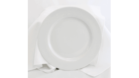 "Image of a 10.5"" White Dinner Plate"
