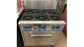 Image of a 6-Burner Range / Stove with Oven