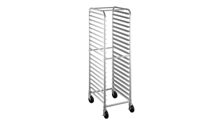 Picture of a Rolling Sheet Pan Rack