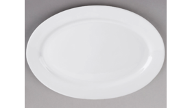 """Image of a 20"""" x 13 3/4"""" China Platter Oval"""