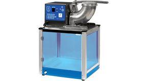 Image of a Snow Cone Machine - Blue Glass