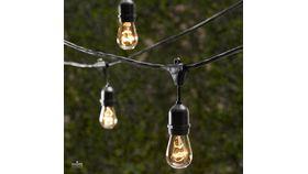 Image of a Bistro Light Strand - Black
