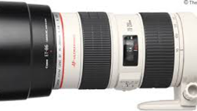 Image of a Canon EF 70-200mm f/2.8L IS II USM