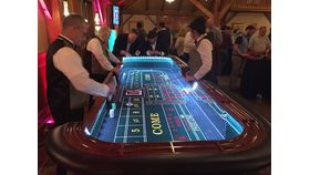 Image of a Craps Table - 12' Deluxe
