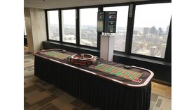 Image of a Double Roulette Table
