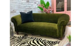 Image of a Vivian Vintage Sofa - Green