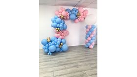 Image of a Organic Balloon Garland/Column Class