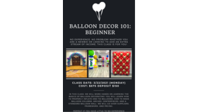 Image of a Beginners Balloon Class