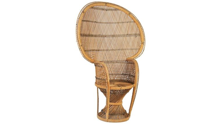 Picture of a Wicker Chair