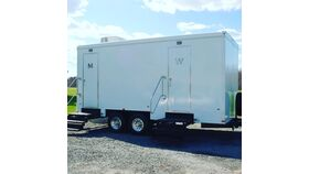 Image of a Luxury Restroom Trailer
