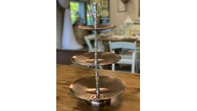Image of a 3-Tier Copper Dish