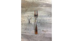 Image of a Basic Salad Fork Silver Flatware