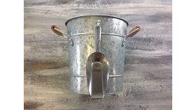 "Image of a Galvanized Ice bucket 8"" Drinkware"