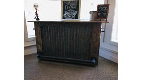 Image of a Rustic Portable Bar