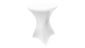 """Image of a 30"""" Fitted cocktail  White Tablecloths"""