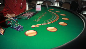 Image of a Blackjack Table