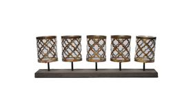 Image of a 5-Candle Linear Candelabra