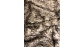 "Image of a Brown Fur Throw Blanket 60"" x 50"""