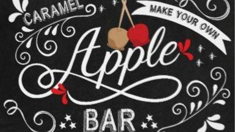 Picture of a Caramel Apple Dessert Bar