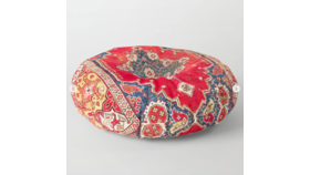 "Image of a Floor Pillow Transylvania, Round 30"" x 30"""