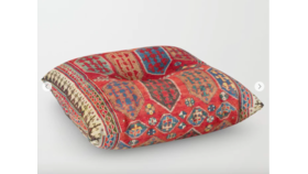 """Image of a Floor Pillow Borjalou, Square 30"""" x 30"""""""