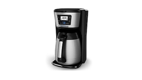 Image of a Coffee Maker (12 cup, thermal, double-walled, vacuum sealed carafe)