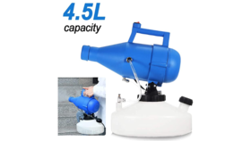 Image of a Disinfection Fogger/Sprayer 4.5 L Electric ULV, Range 20-26 ft, 7.5 lbs
