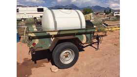 "Image of a 200 Gallon Water tank on trailer incl. water (2 5/8"" ball)"