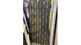 Image of a Black Jacquard Sequin Wall
