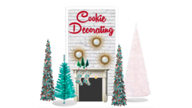 Image of a Cookie Decorating Wall - 4x8
