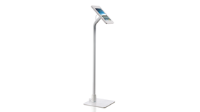 Image of a Lilitab iPad Floor Kiosk - White