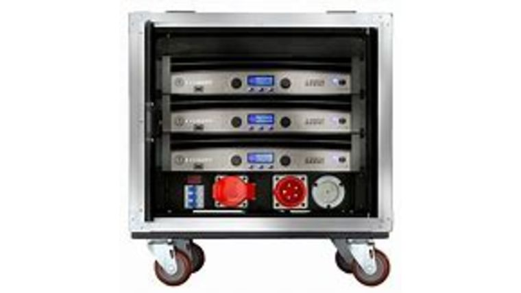 Picture of a Crown VRack Amp Rack