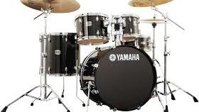 Image of a Yamaha Stage Custom Drum Kit