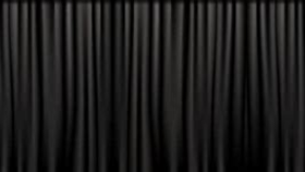 Image of a Black Drape Panel - Heavy Velour