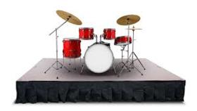 Image of a Drum Riser