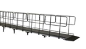 Image of a ADA Wheelchair Stage Ramp