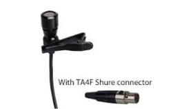 Image of a Lapel Lavaliere Microphone