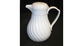 Image of a Coffee Carafe - White