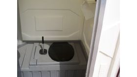 Image of a Portajohn - Construction flush/sink