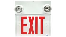 Image of a Emergency Exit Indicator w/back up light