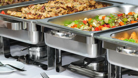 """Image of a Chafing Dish -  Complete w Regular 2"""" Insert Pan"""