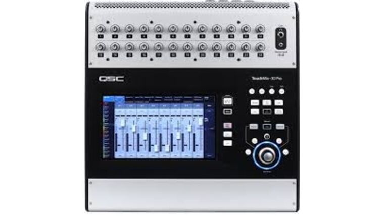 Picture of a 30 CHANNEL QSC TOUCH MIX