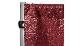 Image of a APPLE RED GLITZ BACKDROP