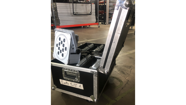 Picture of a 5X12 Uplight Case C