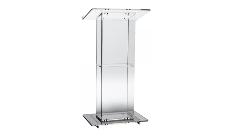 Picture of a ACRYLIC PODIUM 2